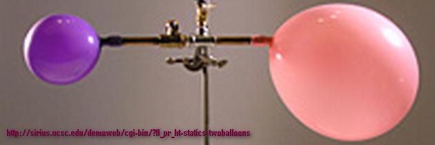 Два воздушных шарика