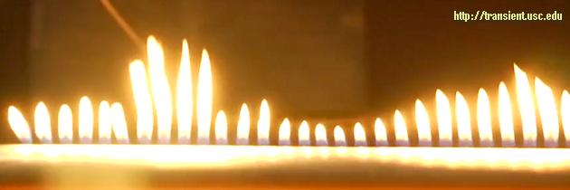 Чувствительное пламя